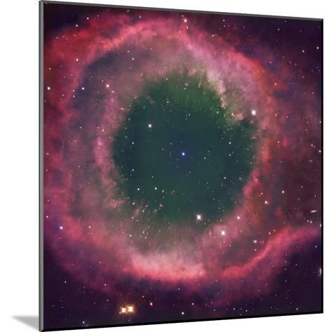 NGC 7293, the Helix Nebula Is the Nearest Planetary Nebula to Our Sun-Robert Gendler-Mounted Photographic Print