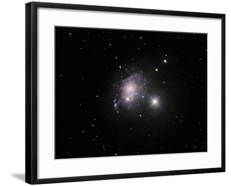 NGC 45 Is One of the Closest and Lowest Surface Brightness Spiral Galaxies-Robert Gendler-Framed Art Print