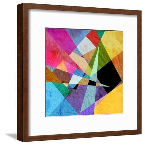 Bright Abstract Background-tanor27-Framed Art Print