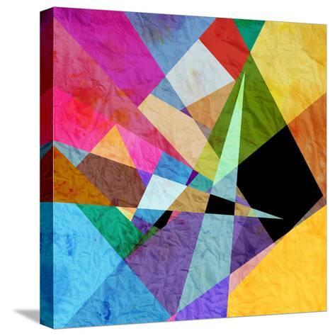 Bright Abstract Background-tanor27-Stretched Canvas Print