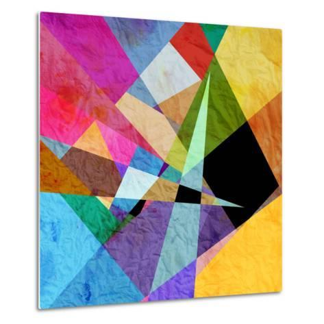 Bright Abstract Background-tanor27-Metal Print