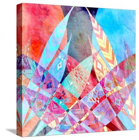 Abstract a Background-tanor27-Stretched Canvas Print