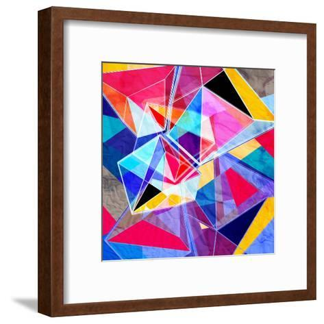 Colorful Abstract Background-tanor27-Framed Art Print