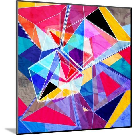 Colorful Abstract Background-tanor27-Mounted Art Print