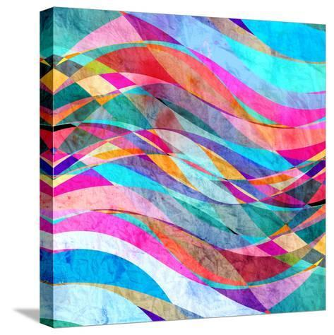 Abstract Wave-tanor27-Stretched Canvas Print