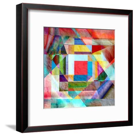 Abstract Background-tanor27-Framed Art Print
