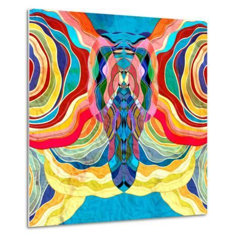 Abstract Colorful Background-tanor27-Metal Print