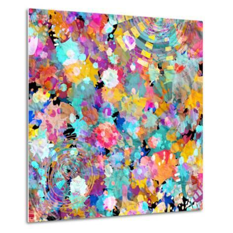 Watercolor Abstract Background-tanor27-Metal Print