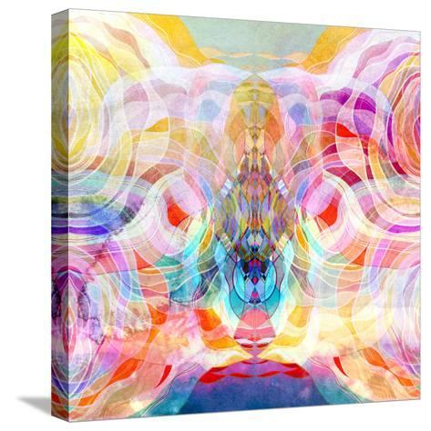 Abstract Colorful Background-tanor27-Stretched Canvas Print