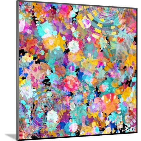 Watercolor Abstract Background-tanor27-Mounted Art Print