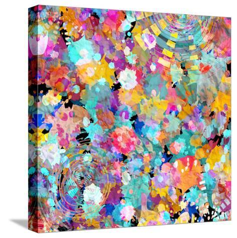 Watercolor Abstract Background-tanor27-Stretched Canvas Print