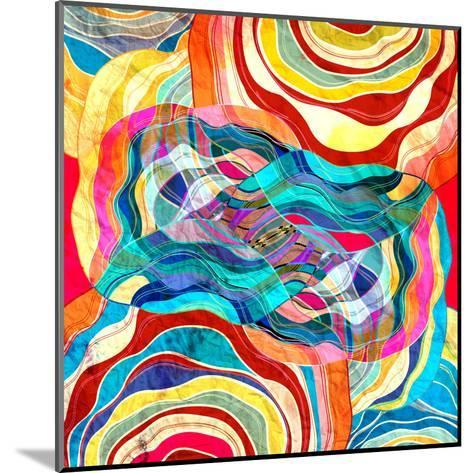 Abstract Colorful Background-tanor27-Mounted Art Print