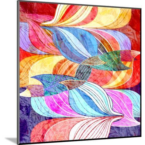 Abstract a Background-tanor27-Mounted Art Print