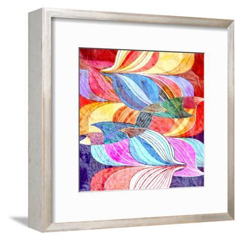 Abstract a Background-tanor27-Framed Art Print