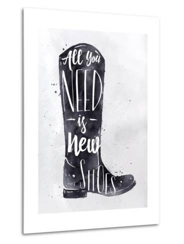 Poster Boots-anna42f-Metal Print