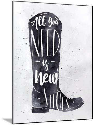 Poster Boots-anna42f-Mounted Art Print