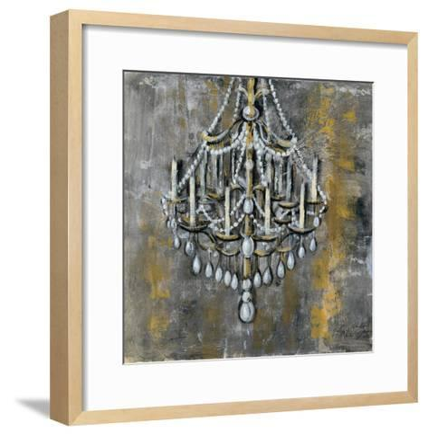 Vintage Chandelier I-Silvia Vassileva-Framed Art Print