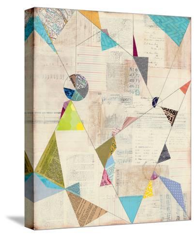 Geometric Background I-Courtney Prahl-Stretched Canvas Print