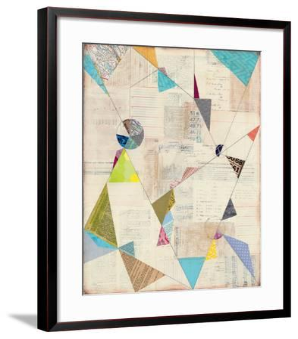 Geometric Background I-Courtney Prahl-Framed Art Print
