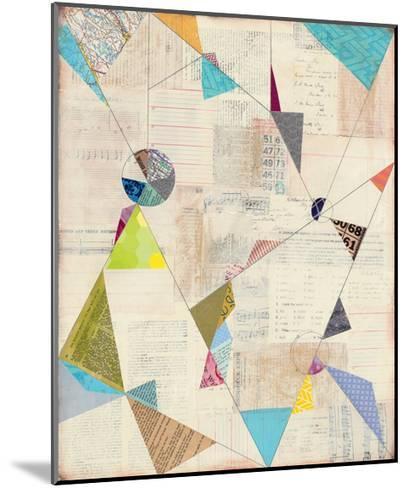 Geometric Background I-Courtney Prahl-Mounted Art Print