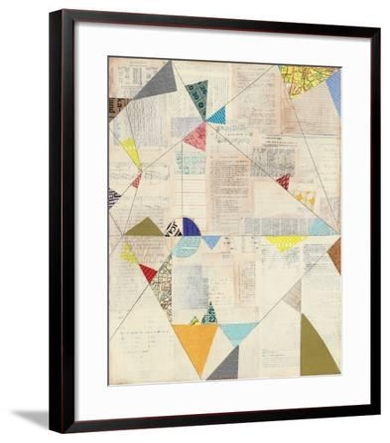 Geometric Background II v.2-Courtney Prahl-Framed Art Print