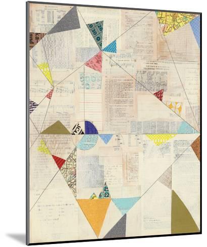 Geometric Background II v.2-Courtney Prahl-Mounted Art Print