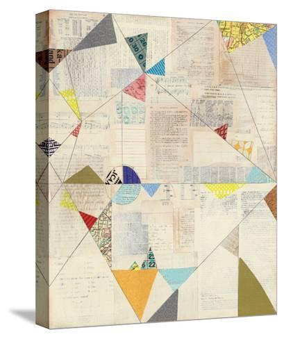 Geometric Background II v.2-Courtney Prahl-Stretched Canvas Print