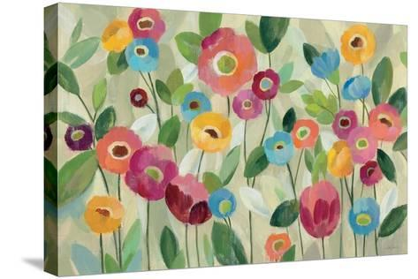 Fairy Tale Flowers V-Silvia Vassileva-Stretched Canvas Print