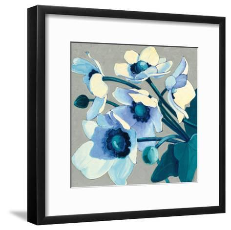 Anemones Japonaises III-Shirley Novak-Framed Art Print