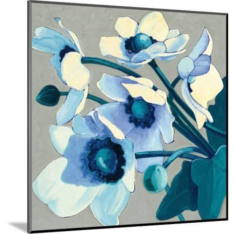 Anemones Japonaises III-Shirley Novak-Mounted Art Print