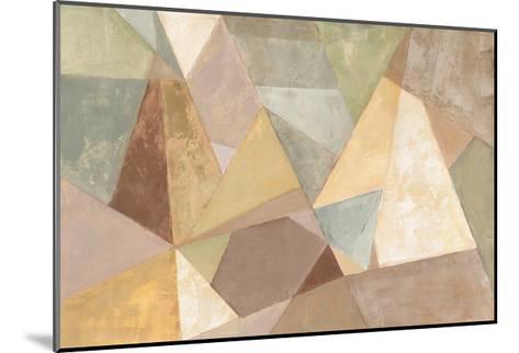 Geometric Abstract Neutral-Silvia Vassileva-Mounted Art Print