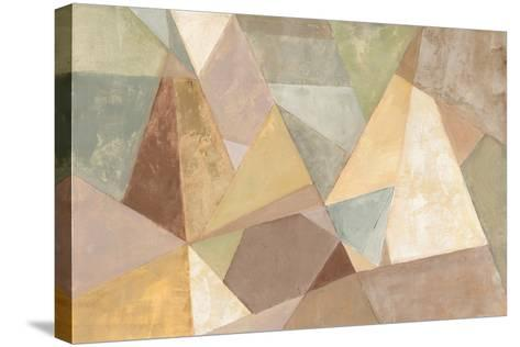 Geometric Abstract Neutral-Silvia Vassileva-Stretched Canvas Print