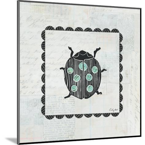 Ladybug Stamp-Courtney Prahl-Mounted Premium Giclee Print