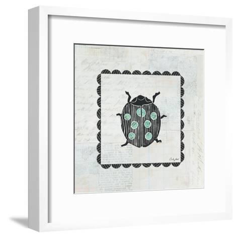 Ladybug Stamp-Courtney Prahl-Framed Art Print