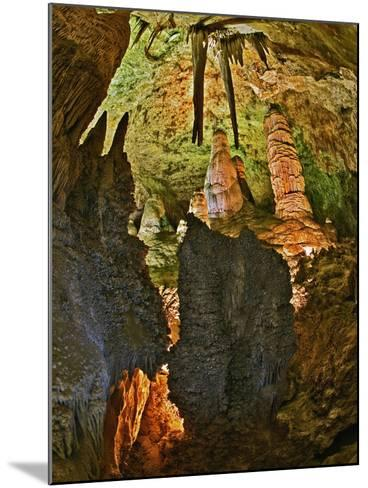 Stalactites and Stalagmites in the Hall of Giants, Big Room, Carlsbad Caverns Np-Adam Jones-Mounted Photographic Print