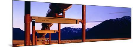 The Trans Alaska Pipeline Just North of the Brooks Range Looking South-Paul Andrew Lawrence-Mounted Photographic Print