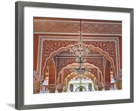City Palace, Jaipur, India-Adam Jones-Framed Art Print