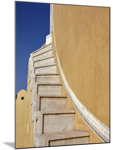 Jantar Mantar in Jaipur, One of Six Major Observatories Built by Maharajah, India-Adam Jones-Mounted Photographic Print