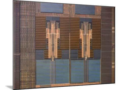 Micrograph of a Computer Microprocessor, LM X200-Robert Markus-Mounted Photographic Print