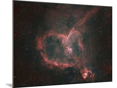 Ic1805, the Heart Nebula-Matthew Russell-Mounted Photographic Print