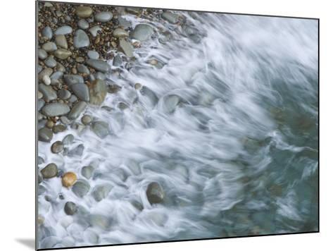 Wave Breaking on Rocky Beach, California, USA-Arthur Morris-Mounted Photographic Print