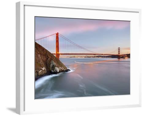 Golden Gate Bridge, San Francisco, California, USA-Patrick Smith-Framed Art Print