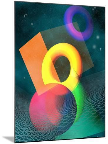 Geometric Solids in Space-Carol & Mike Werner-Mounted Photographic Print