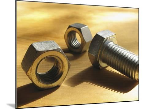 Nuts and Bolts-Carol & Mike Werner-Mounted Photographic Print