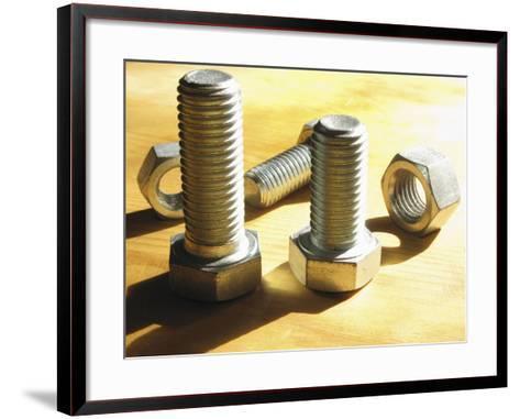 Nuts and Bolts-Carol & Mike Werner-Framed Art Print