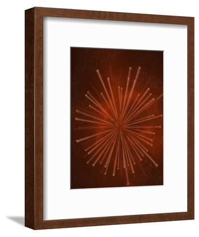 Painting of Neutrinos-Carol & Mike Werner-Framed Art Print