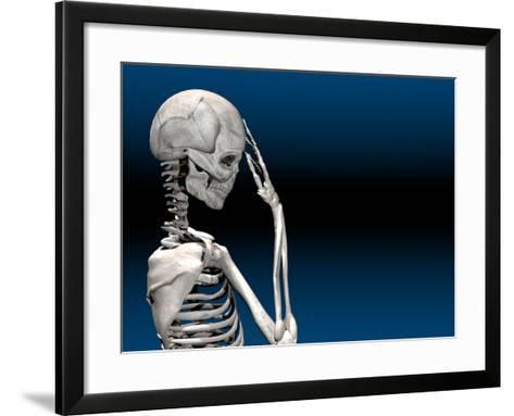 Skeleton with a Headache-Carol & Mike Werner-Framed Art Print