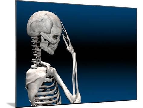 Skeleton with a Headache-Carol & Mike Werner-Mounted Photographic Print