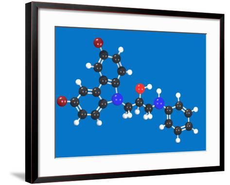 P7C3 Molecular Model-Carol & Mike Werner-Framed Art Print