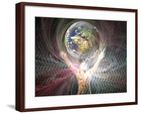 Man's Relationship to the Earth-Carol & Mike Werner-Framed Art Print